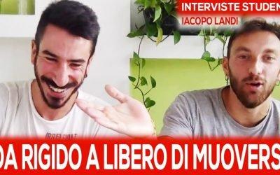 Allievo di Ale Demaria per 5 anni: la storia di Iacopo Landi